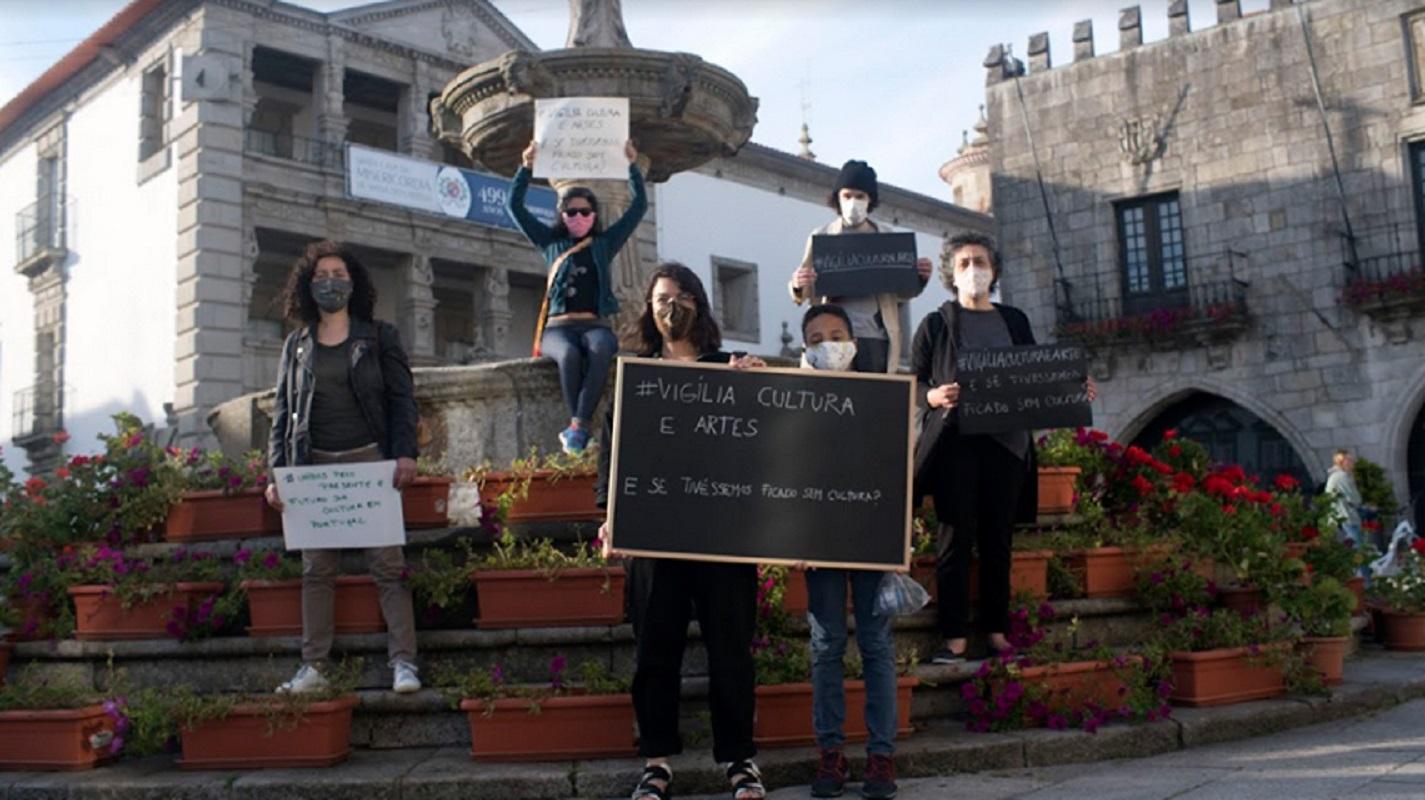 Vigília pela cultura e pela arte em Viana do Castelo