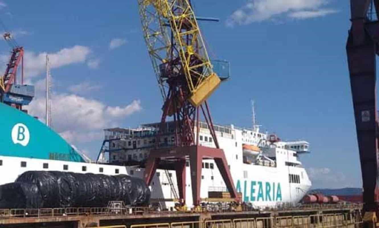 West Sea reconverte ferry da Baleària a GNL