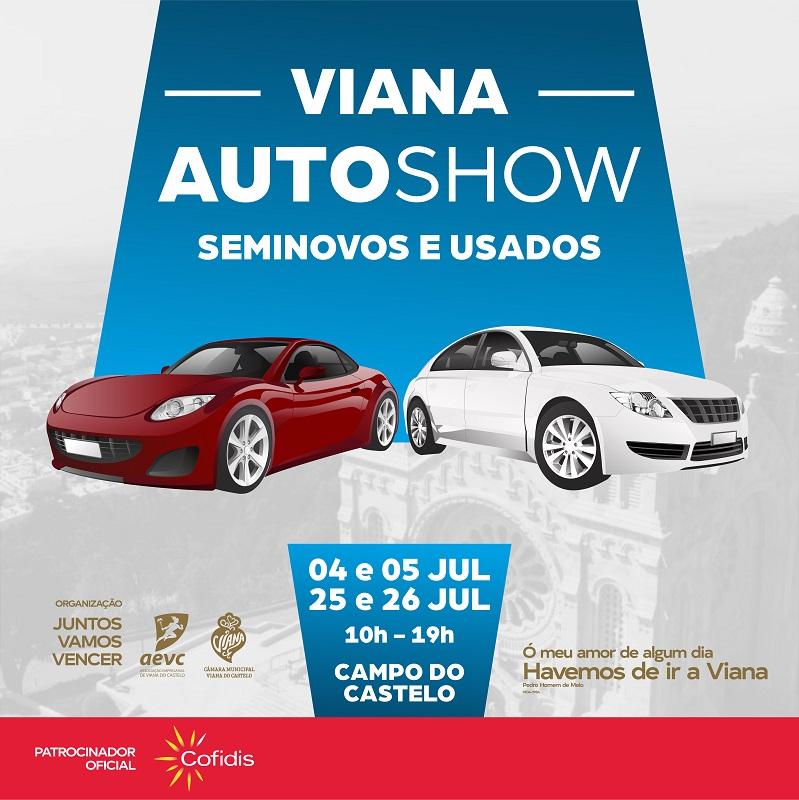 AEVC diz que primeira edição da feira Viana Auto Show foi um sucesso