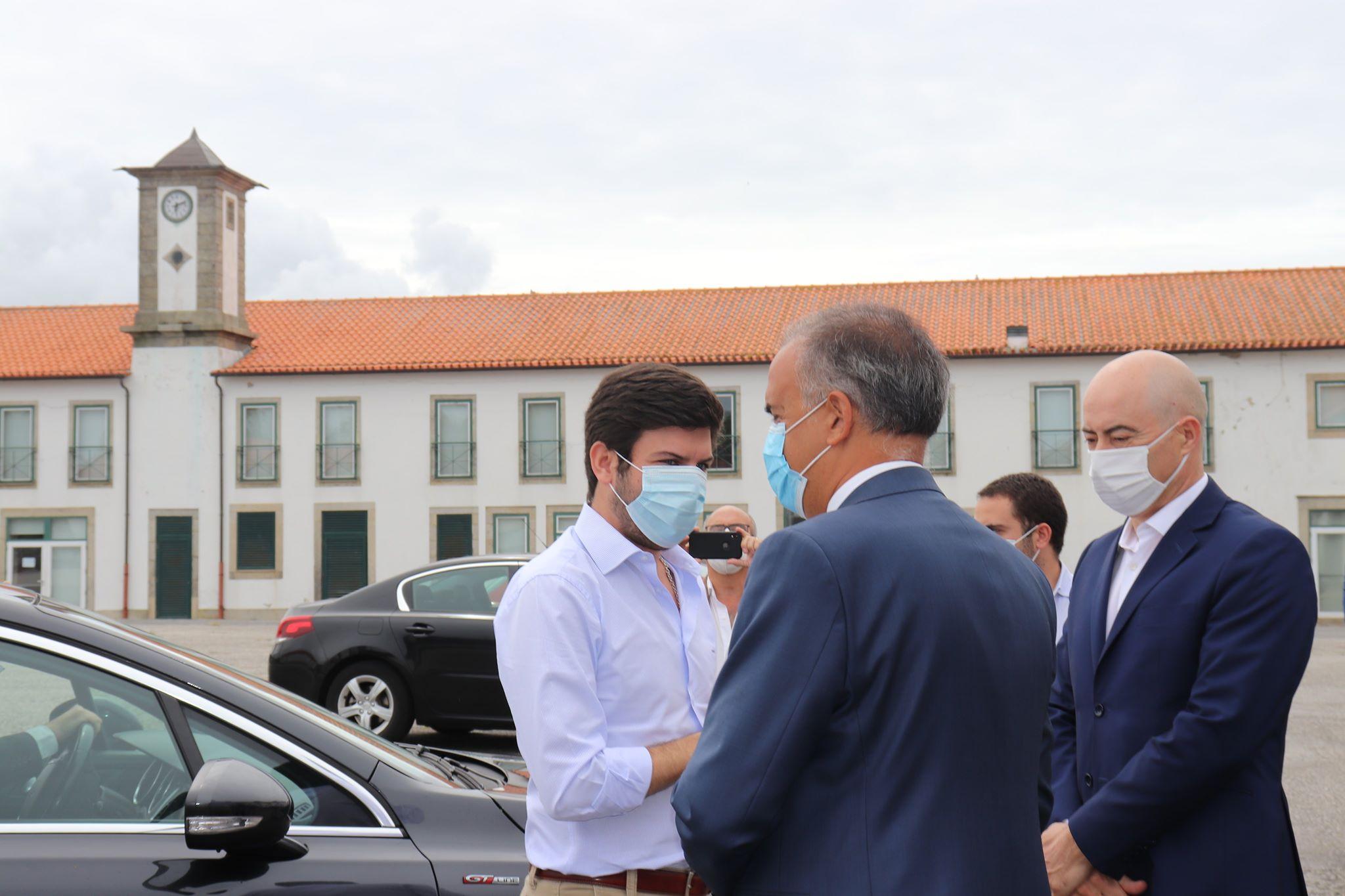 Líder do CDS defende em Viana do Castelo campanha nacional que apele ao turismo interno