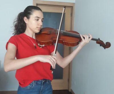 Aluna ARTEAM admitida na Haute École de Musique na Suiça