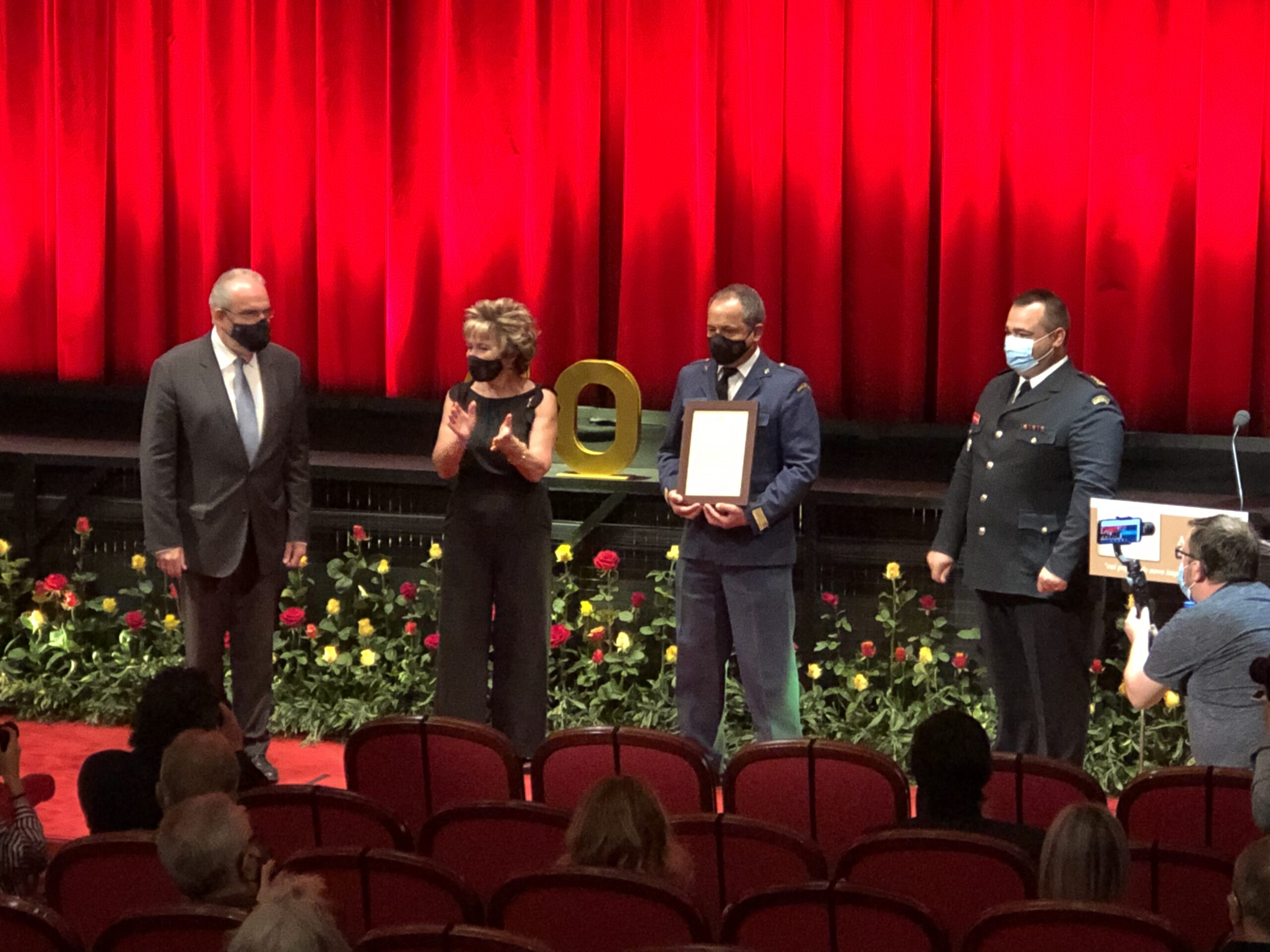 António Cruz recebe Louvor de Comandante Nacional da Emergência e Proteção Civil
