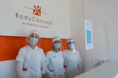 Bodyconcept está de volta com espaço renovado, moderno e que respeita todas as normas de segurança