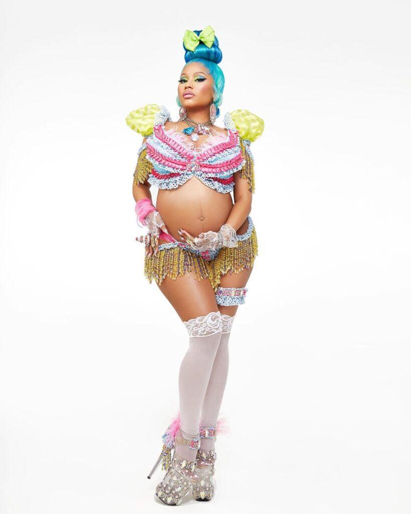 Nicki Minaj anuncia gravidez