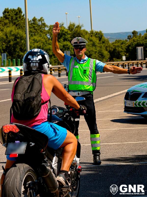 GNR realiza ações de fiscalização a motociclos até 13 de julho