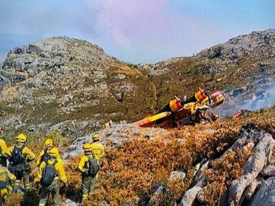 Investigação ao avião 'Canadair' é responsabilidade das autoridades espanholas