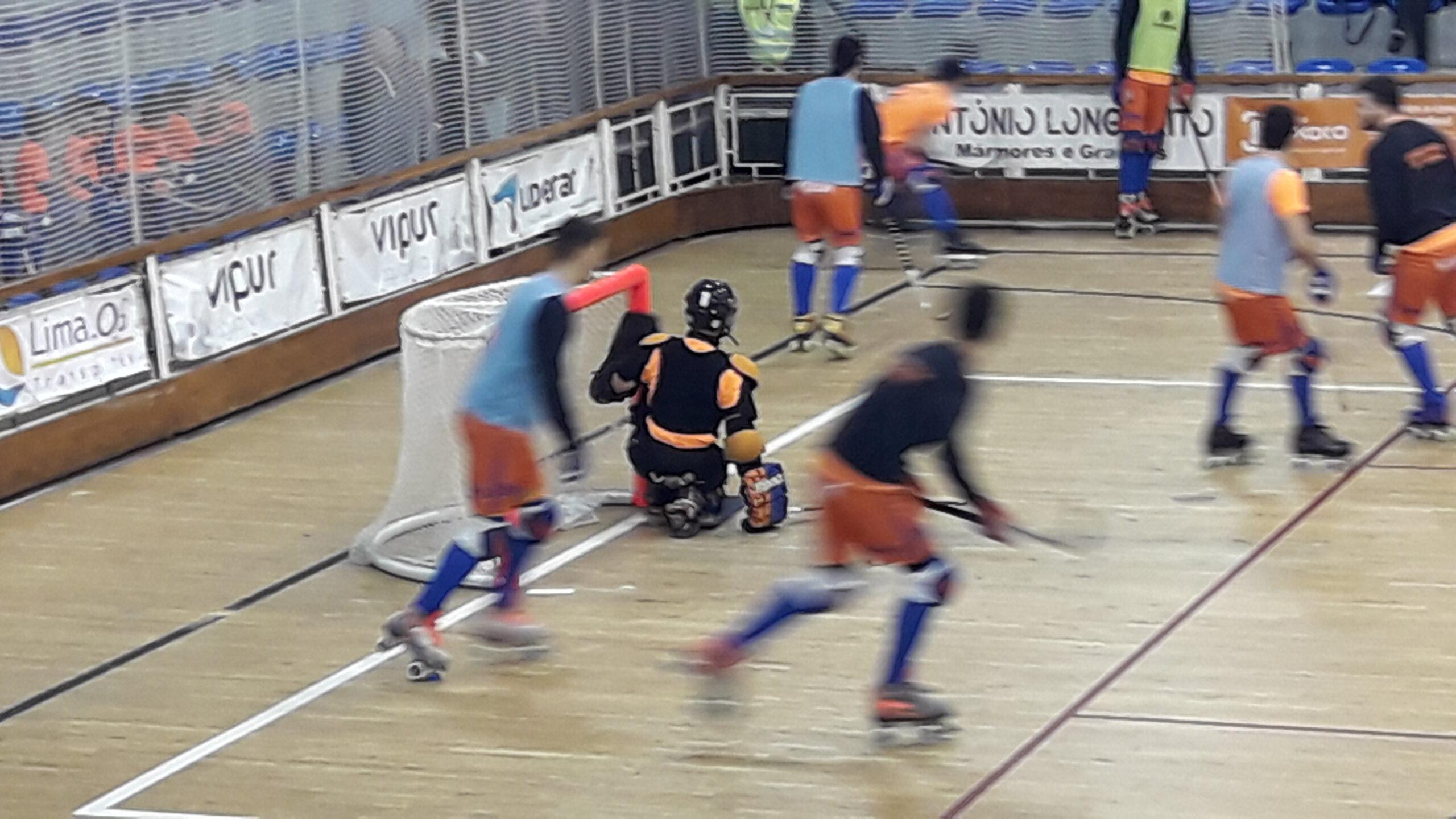 Juventude de Viana inicia campeonato de hoquei em patins com derrota frente à Oliveirense