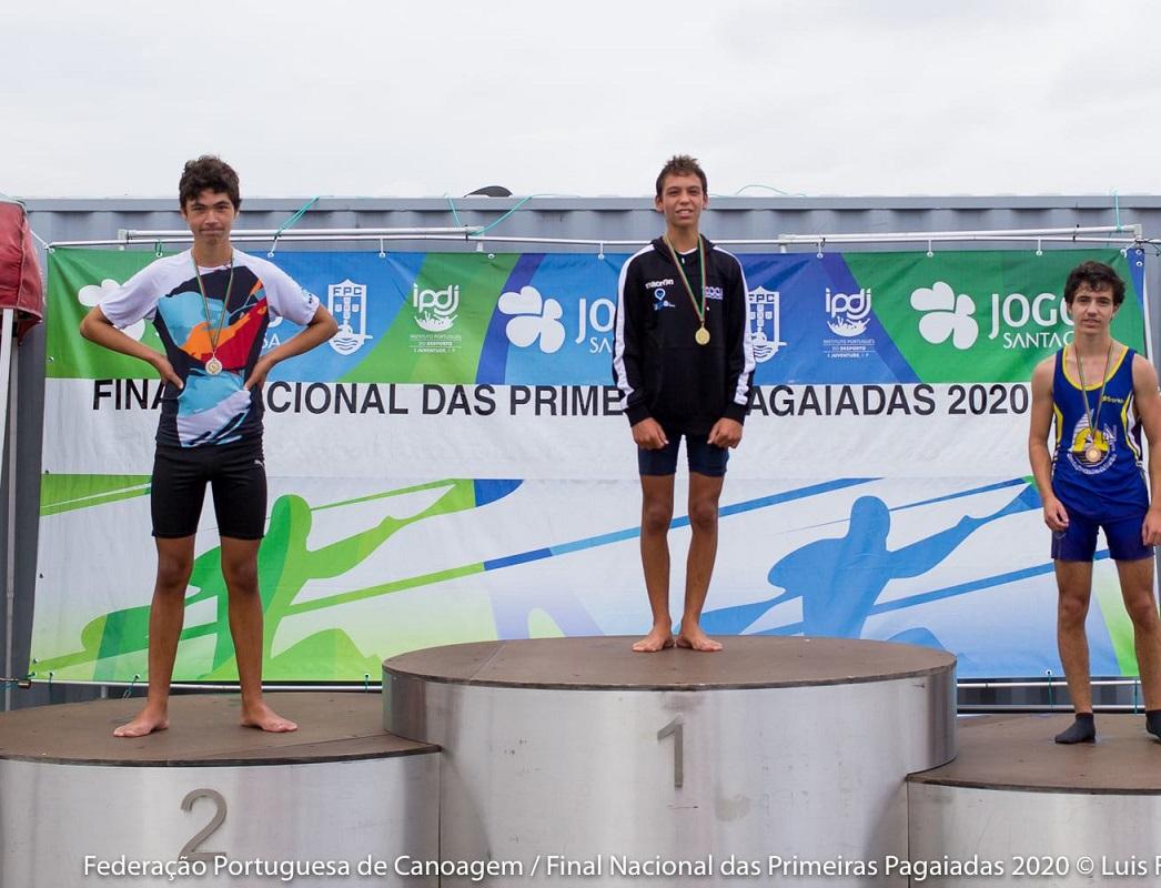 Darque Kayak Clube conquista medalhas nas Primeiras Pagaiadas