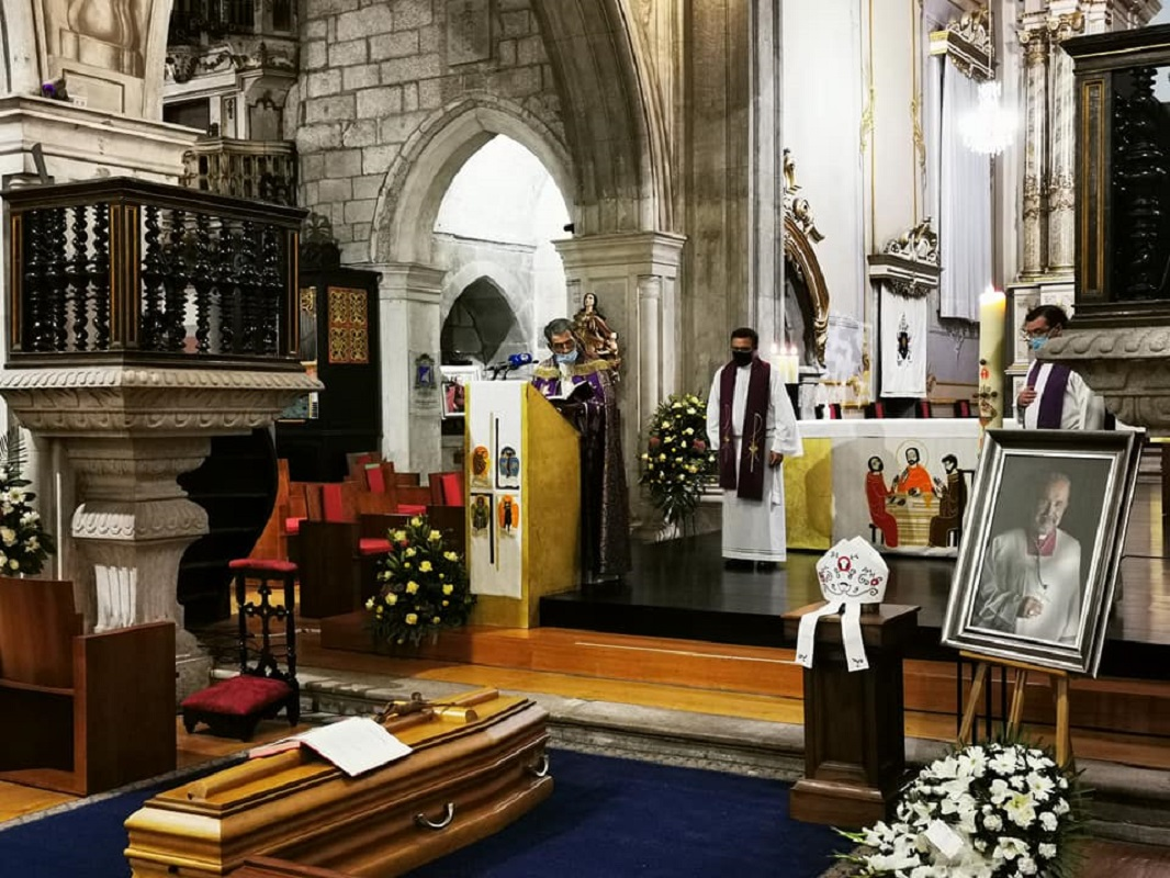 Dia de adeus a D. Anacleto Oliveira na Sé Catedral de Viana do Castelo