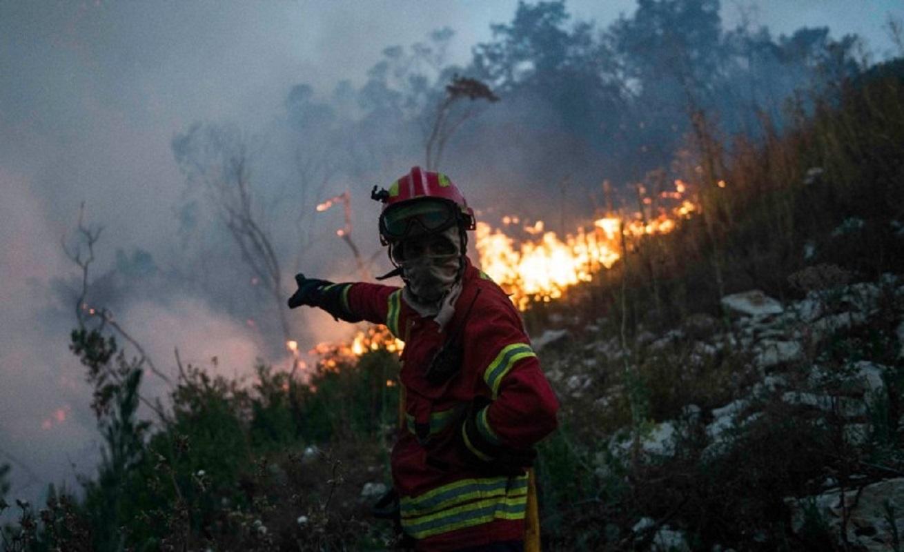 Quatro suspeitos de atear incêndio interrogados hoje no Tribunal de Ponte de Lima