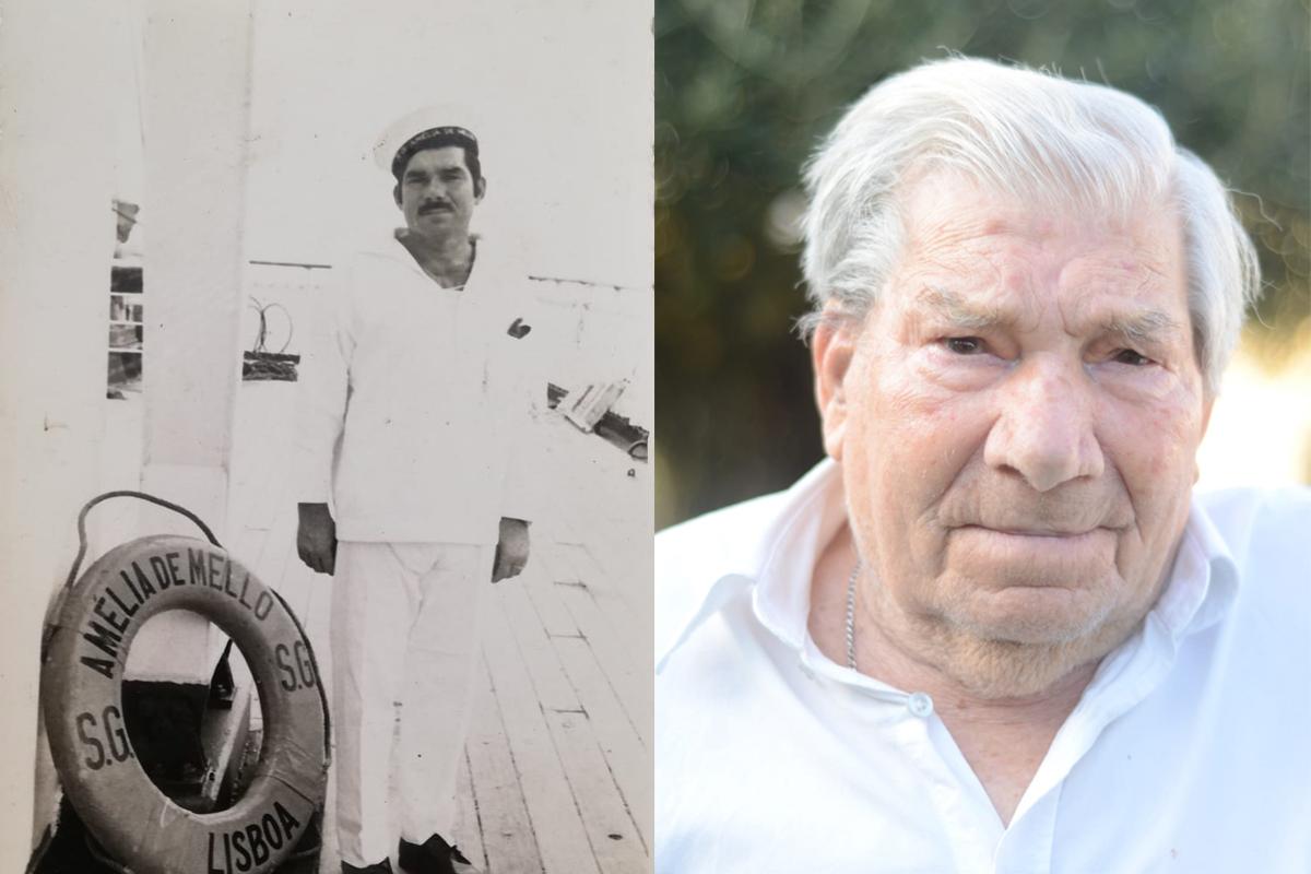 Reformado da Marinha Mercante com 100 anos homenageado pela junta de São Romão de Neiva