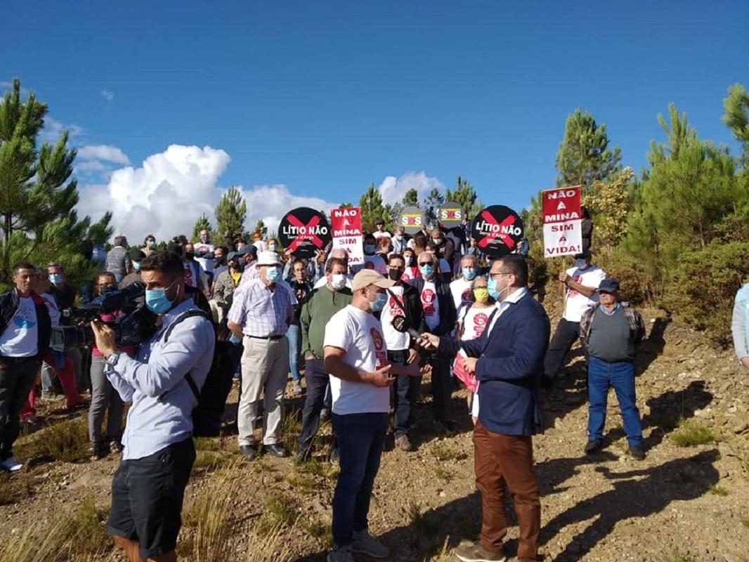 """Autárquicas: SOS Serra d' Arga questiona candidatos perante a """"ausência de discussão sobre o plano de mineração de lítio"""""""