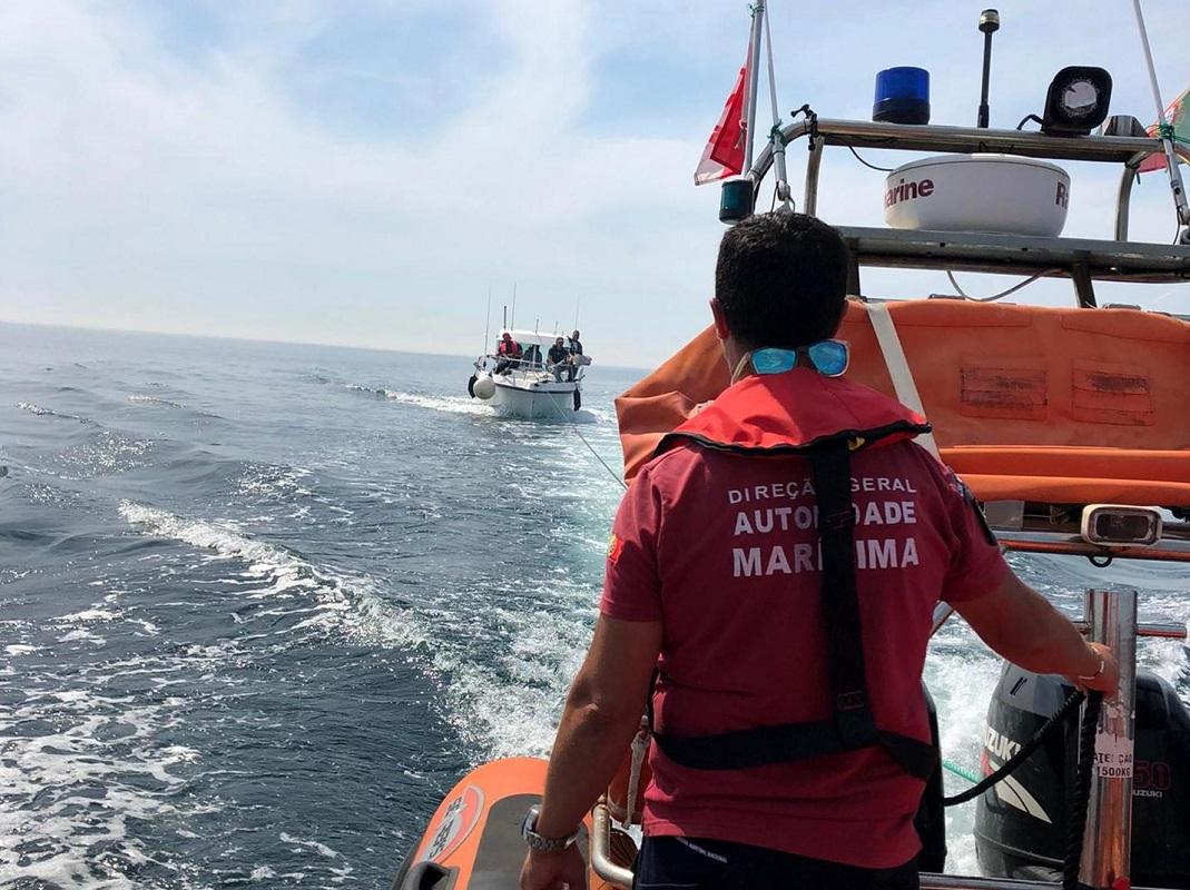 Estação Salva-vidas de Viana do Castelo auxilia embarcação de recreio com quatro tripulantes a bordo
