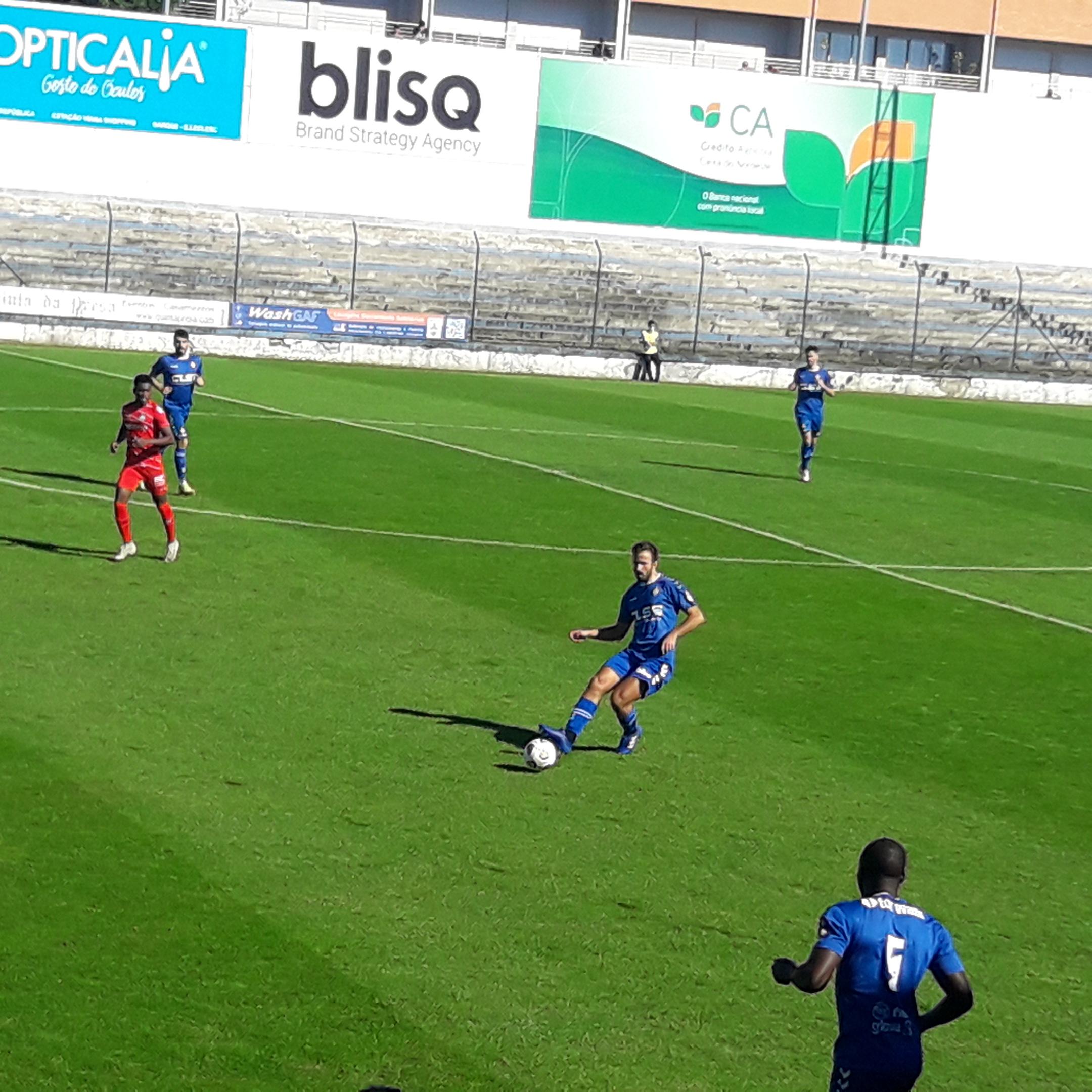 Sport Clube Vianense fora da Taça de Portugal após derrota com GD Vilar de Perdizes