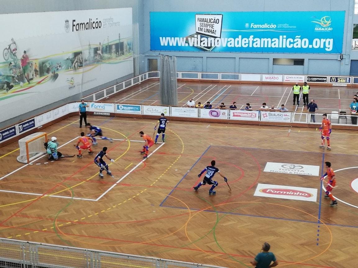 Hóquei em patins: Juventude de Viana consegue primeira vitória no campeonato na casa do Famalicense