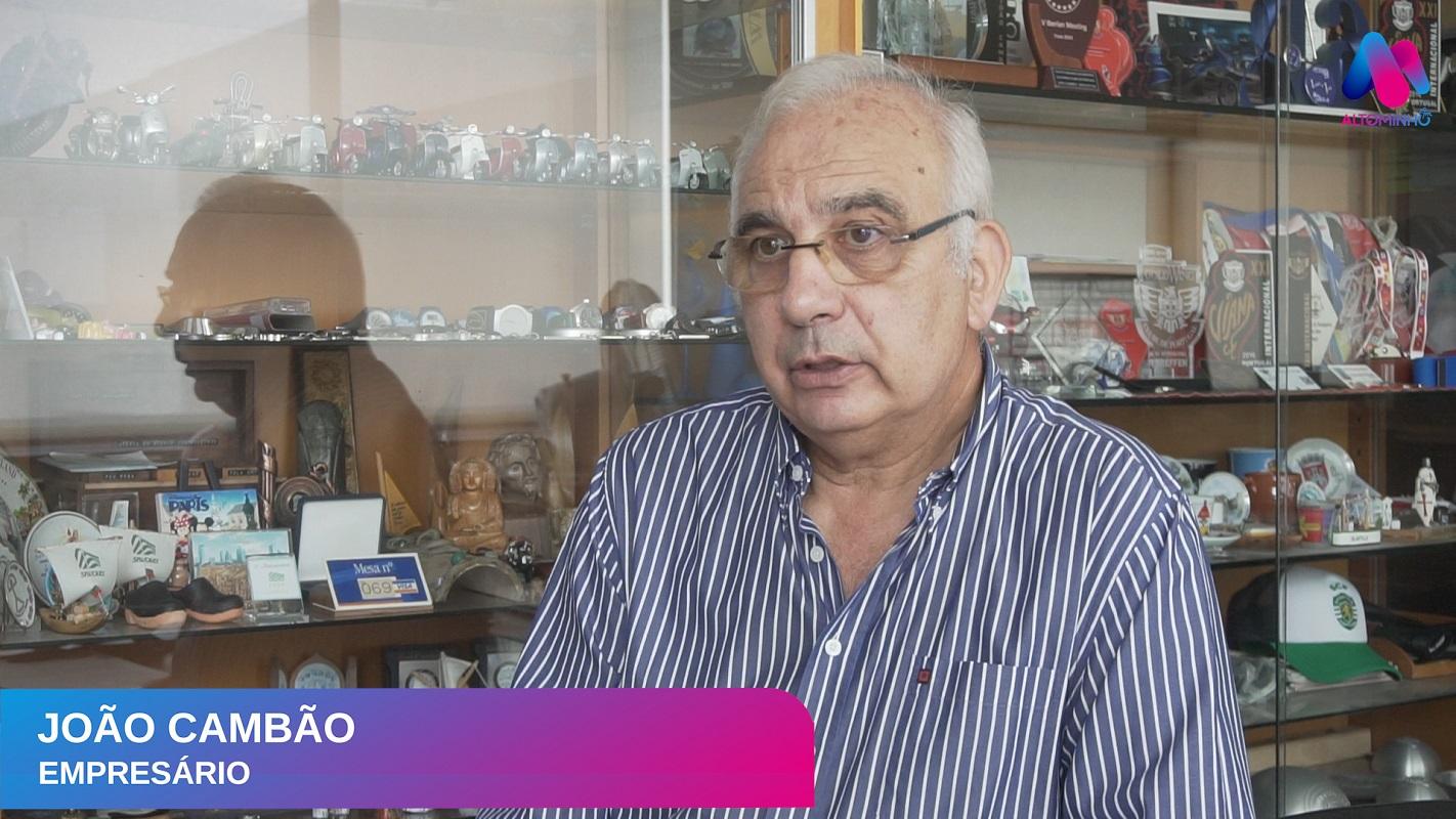 Vídeo: João Cambão | De trabalhador dos ENVC a empresário e entusiasta de viagens e motas
