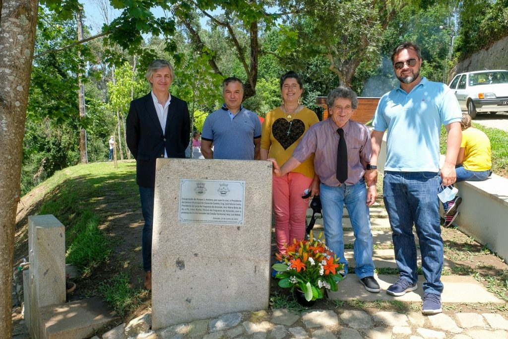 Viana do Castelo: Parque de Santo António na freguesia de Amonde inaugurado