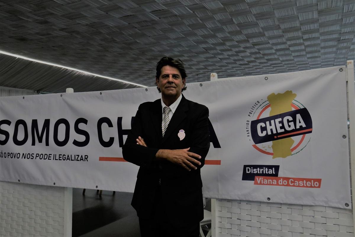 Gonçalo Abreu Lima concorre pelo Chega por mandato na Câmara de Ponte de Lima