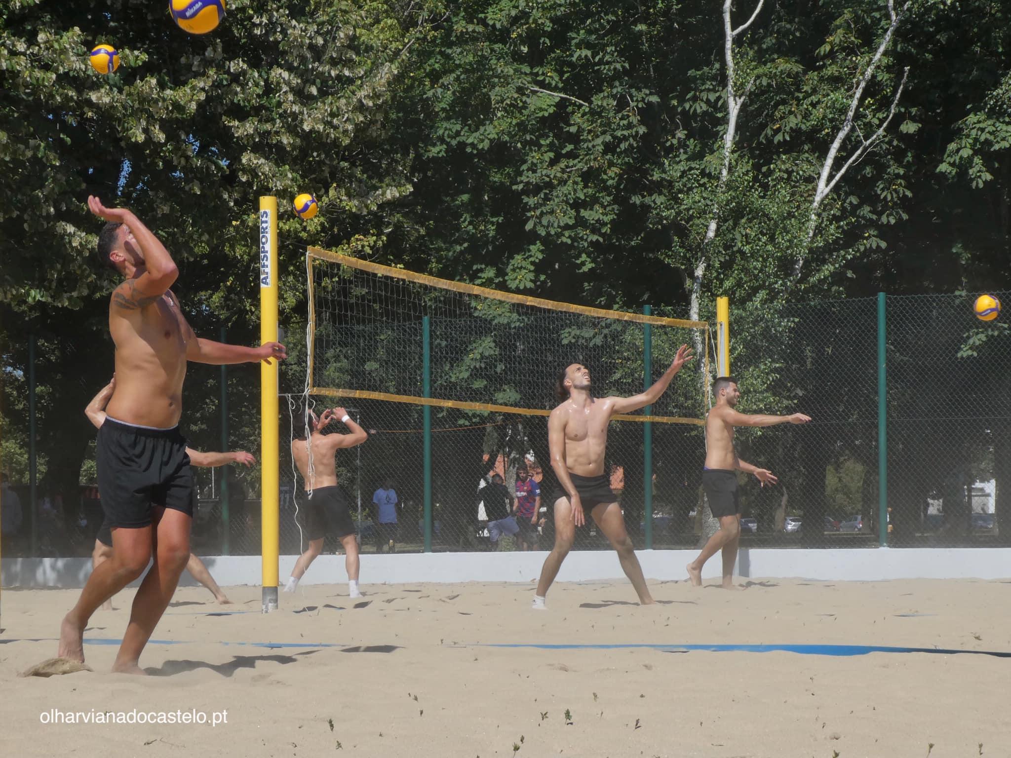 Viana já conta com um campo de voleibol de praia