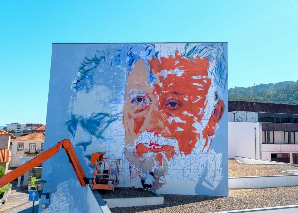 Artista venezuelano com intervenção artística em Vila Nova de Cerveira