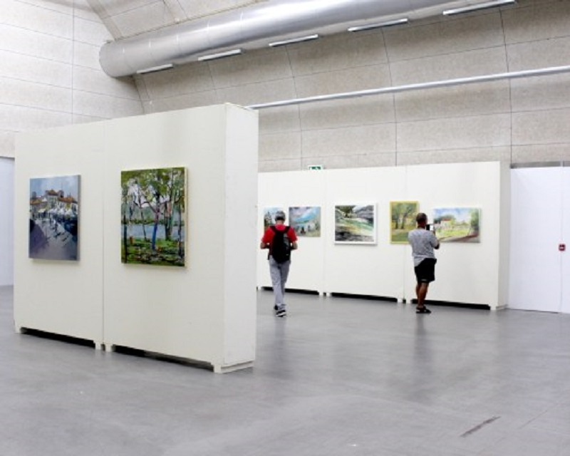 Doações ao Museu Bienal de Cerveira em exposição