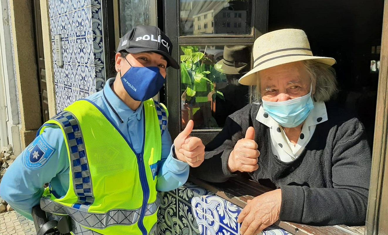 PSP iniciou operação para sinalizar situações de risco entre população mais idosa
