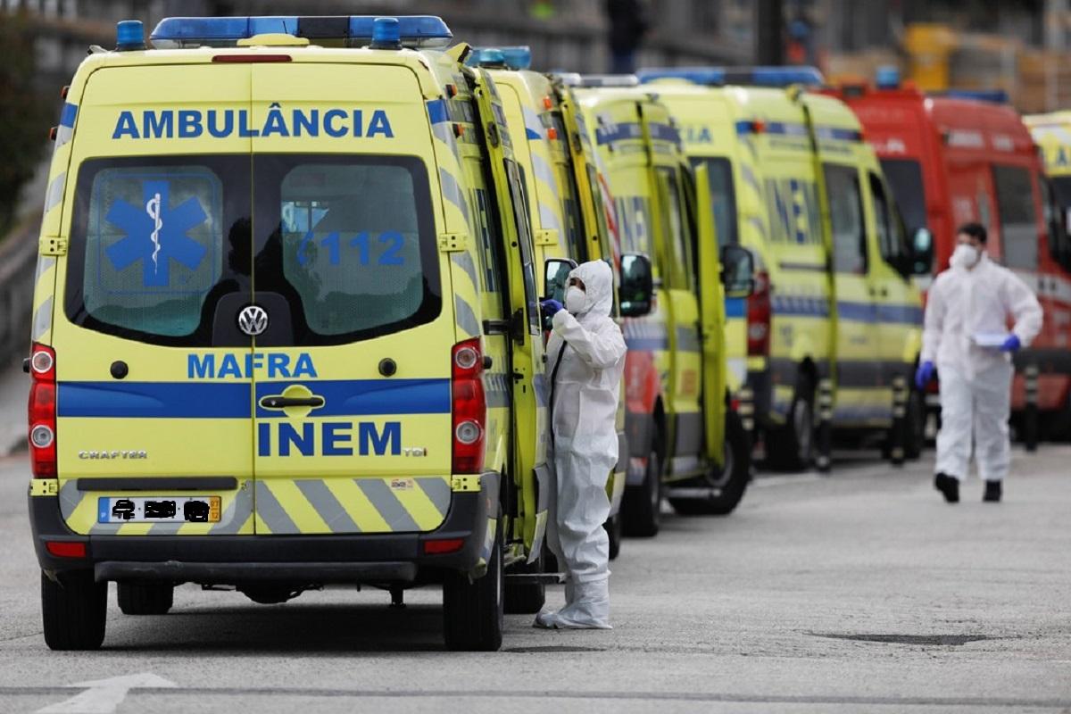Covid-19: Portugal com oito mortes, 911 novas infeções e mais 17 internamentos