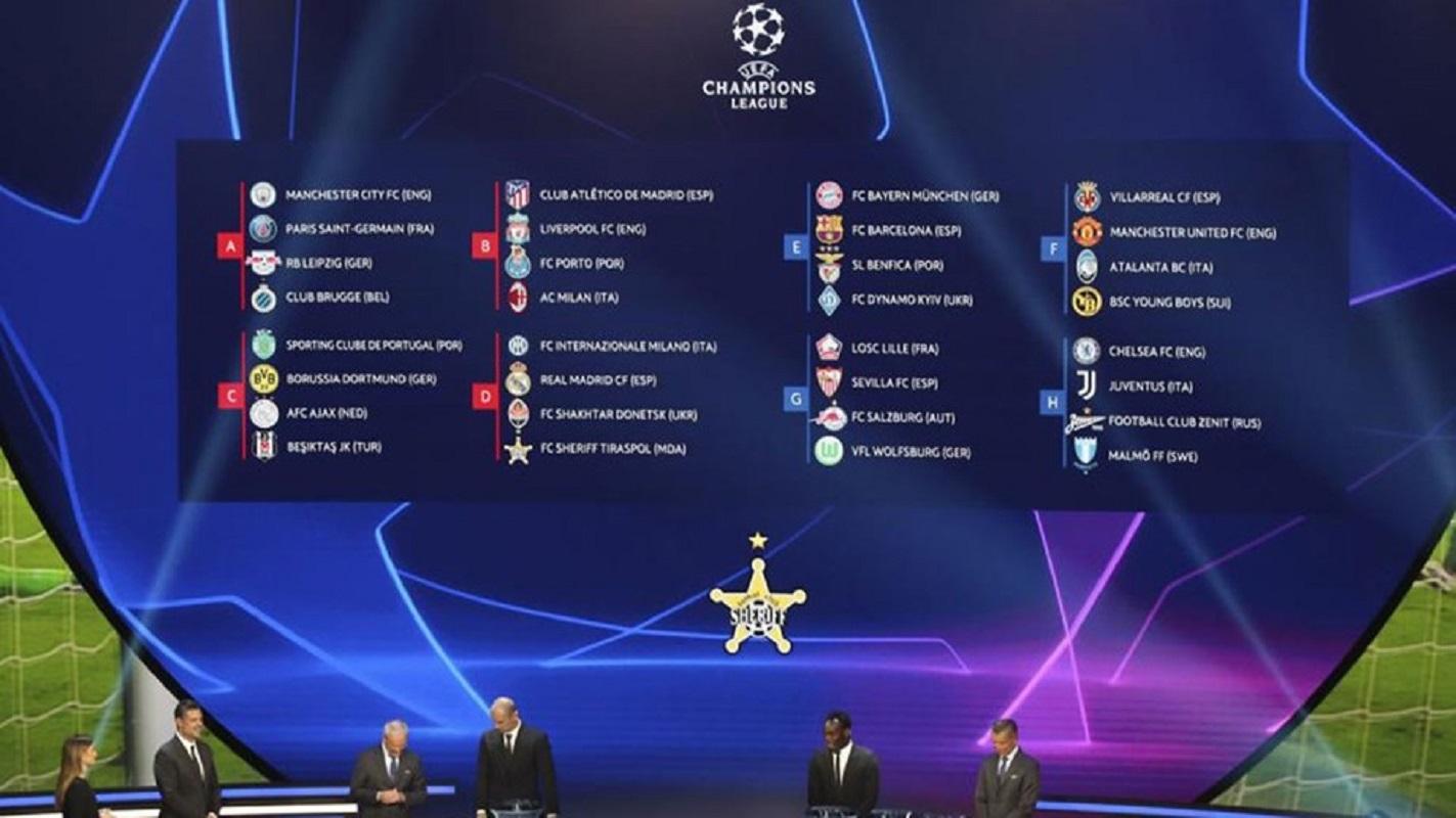"""Liga dos Campeões: FC Porto no """"grupo da morte"""", Benfica com Barcelona e Bayern, Sporting defronta Dortmund"""
