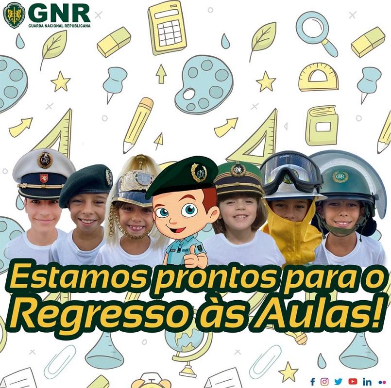 GNR faz campanhas de sensibilização no regresso às aulas