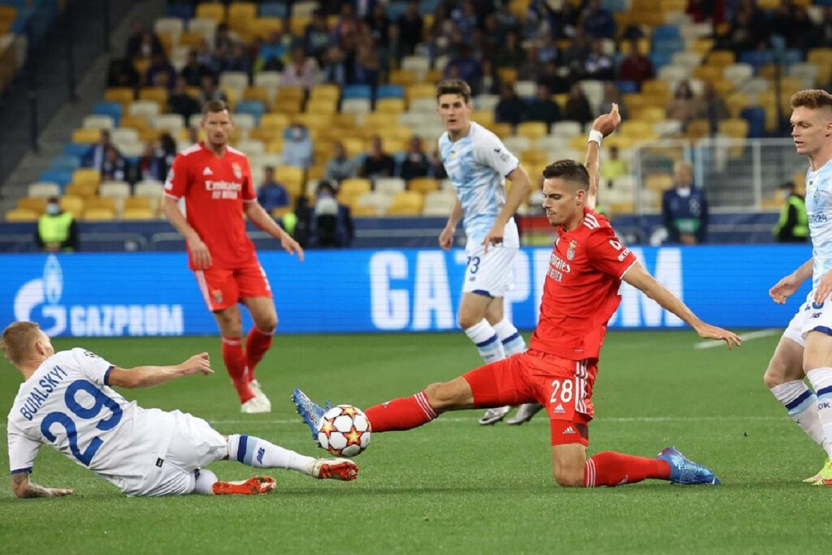 Benfica empata a zero em Kiev na estreia no Grupo E da Liga dos Campeões