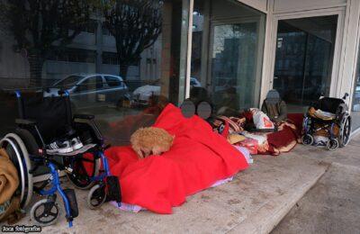 Portugal tem cerca de 8.200 pessoas em situação de sem-abrigo
