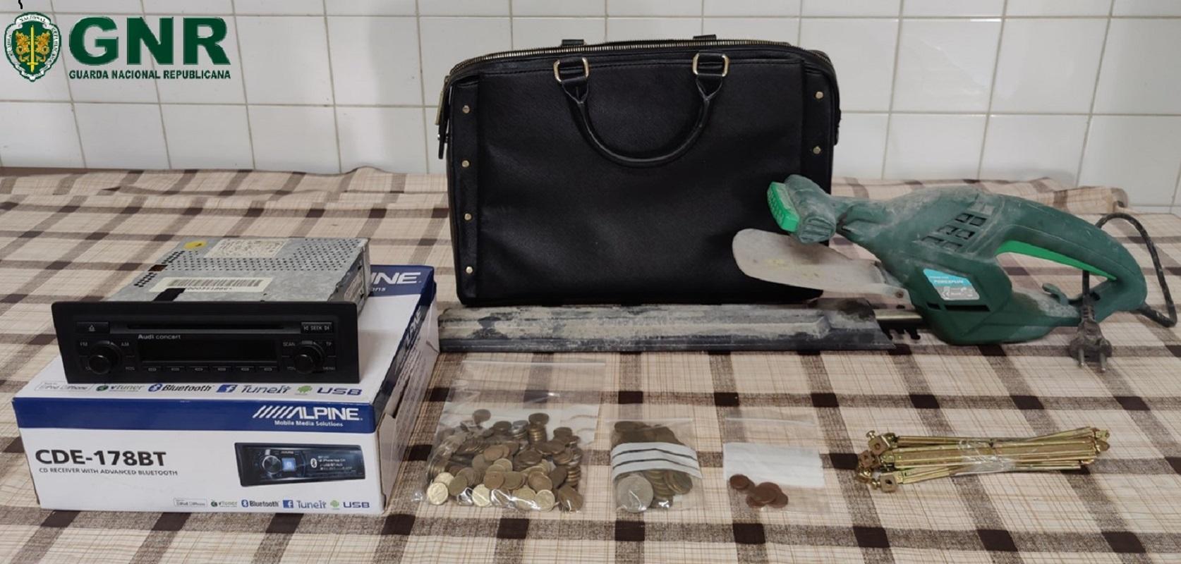 GNR de Viana do Castelo recupera material furtado em Melgaço