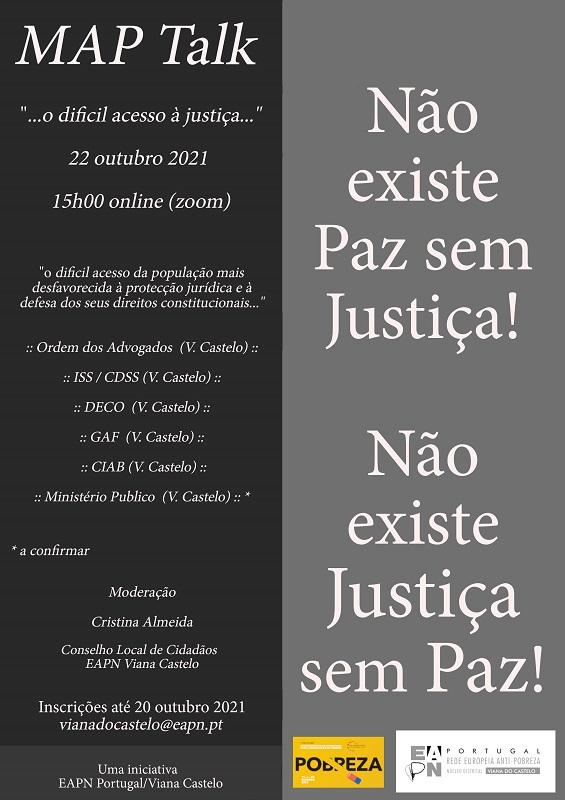 """Viana do Castelo: Rede Europeia Anti Pobreza promove o debate """"O difícil acesso à justiça"""""""