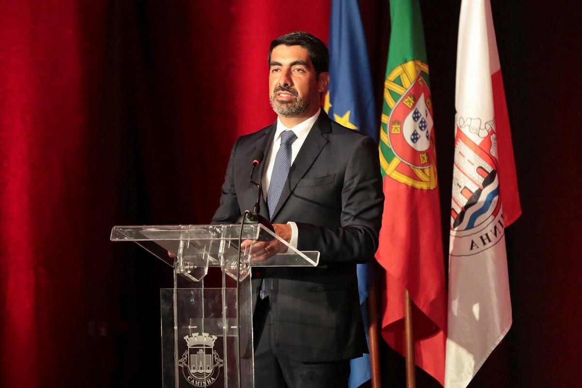 Miguel Alves toma posse como presidente da Câmara Municipal de Caminha