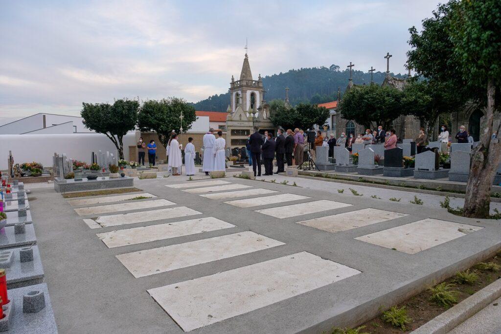 Viana do Castelo: Inaugurada empreitada de ampliação do cemitério de Outeiro