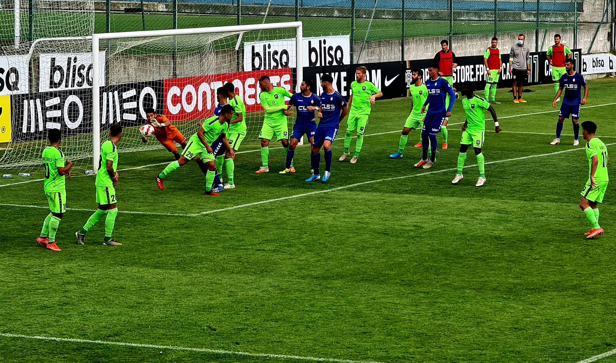 SC Vianense perde com Vilaverdense em jogo antecipado do Campeonato de Portugal