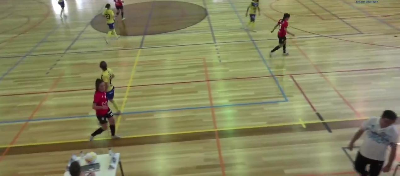 Santa Luzia FC perde na recepção ao Nun'Alvares para o campeonato de futsal feminino