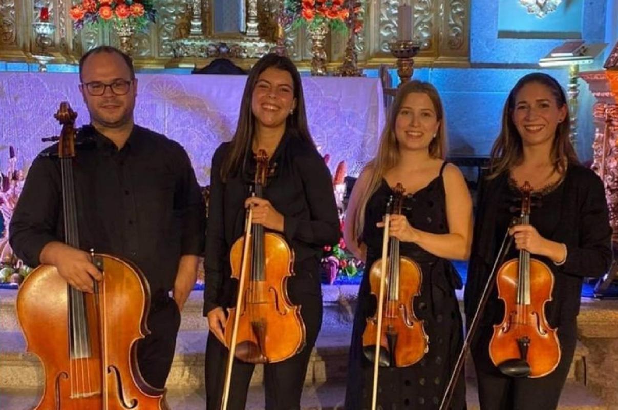Quarteto de Cordas Con Spirito atua em Vila Nova de Cerveira